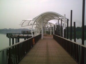 Photo One of Heritage Bridge - meeting-point of Singapore fitness boot camps.