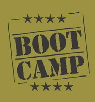 Image of fitness boot camp logo.
